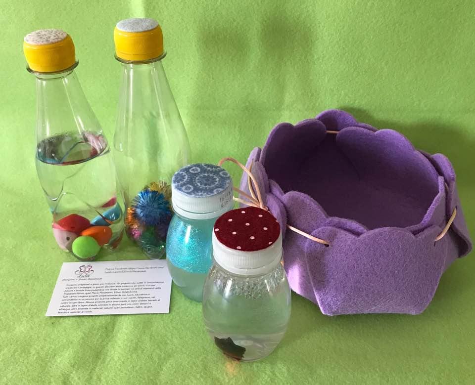 Bottigliette sonore e sensoriali