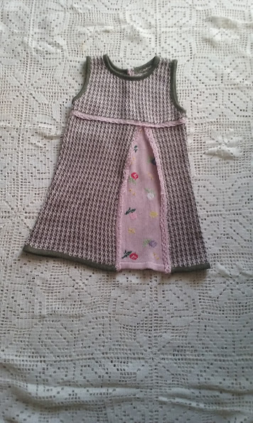 abito vestito bimba cotone maglia