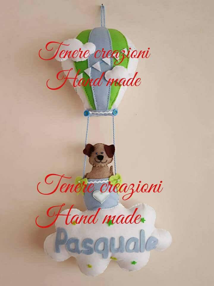 Fiocco mongolfiera