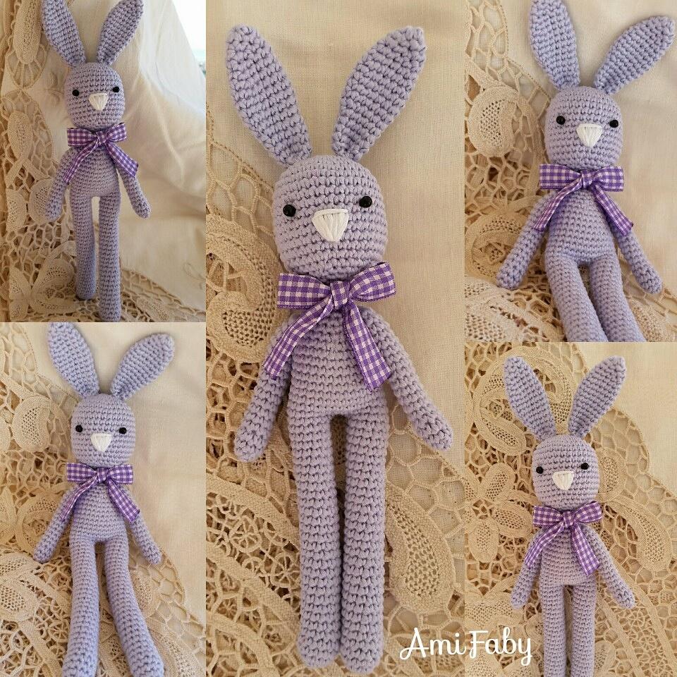 Amigurumi Bunny Disponibile su Richiesta