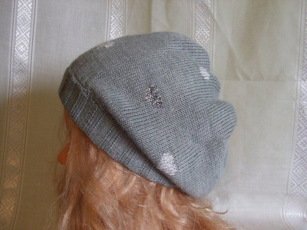 cappello berretto lana maglia bimba