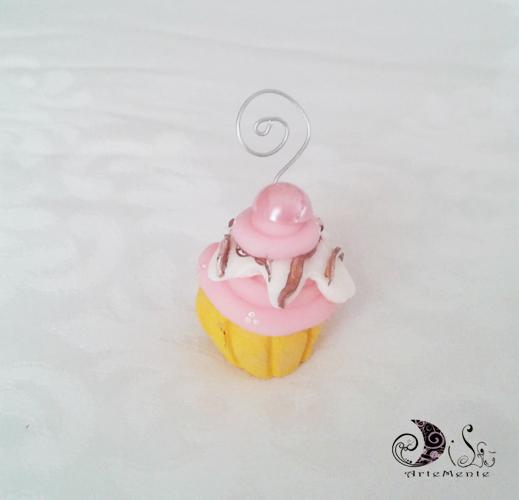 Bomboniera portafoto cupcake