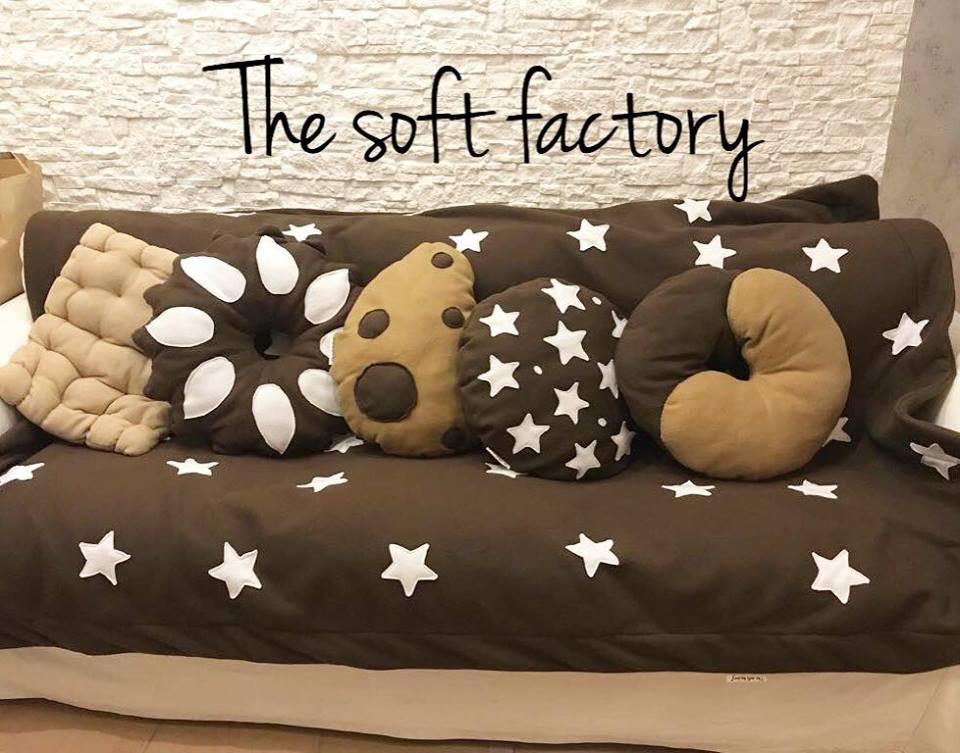 Cuscino biscotto pan di stelle gocciola bucaneve abbraccio orosaiwa