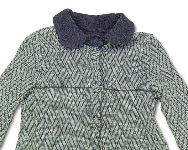 cappotto lana maglia bimba