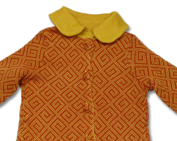 cappotto bimba lana maglia