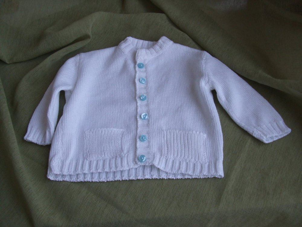 cardigan golfino bimbo cotone maglia