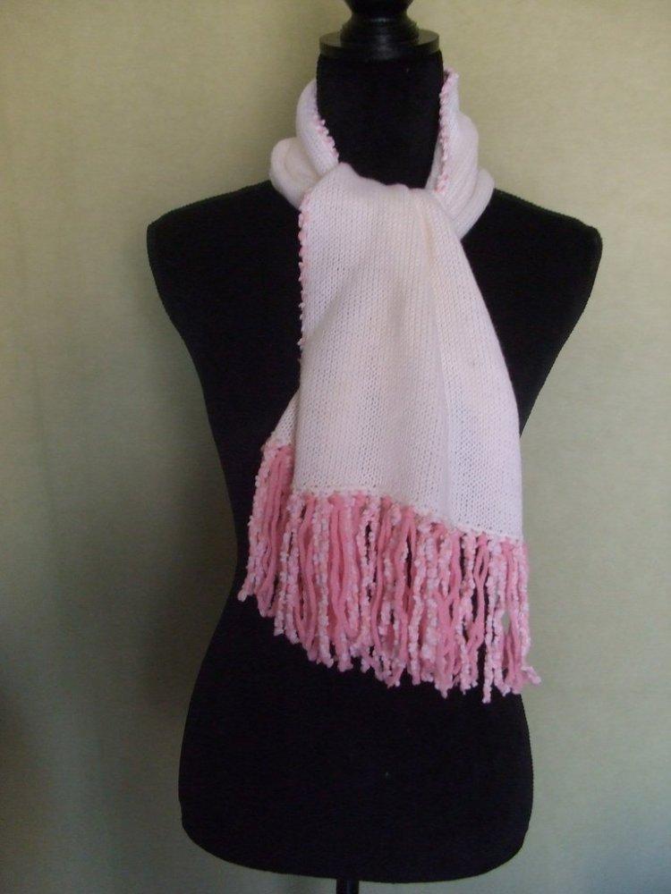sciarpa + cappello lana maglia bimba