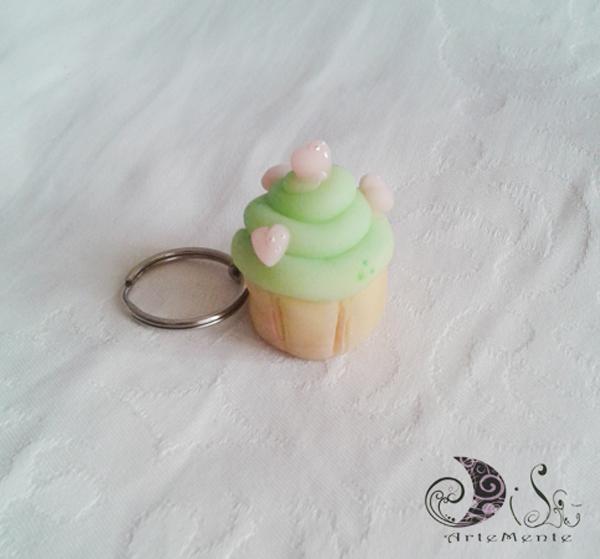 Portachiave cupcake idea regalo bomboniera - gadget compleanno