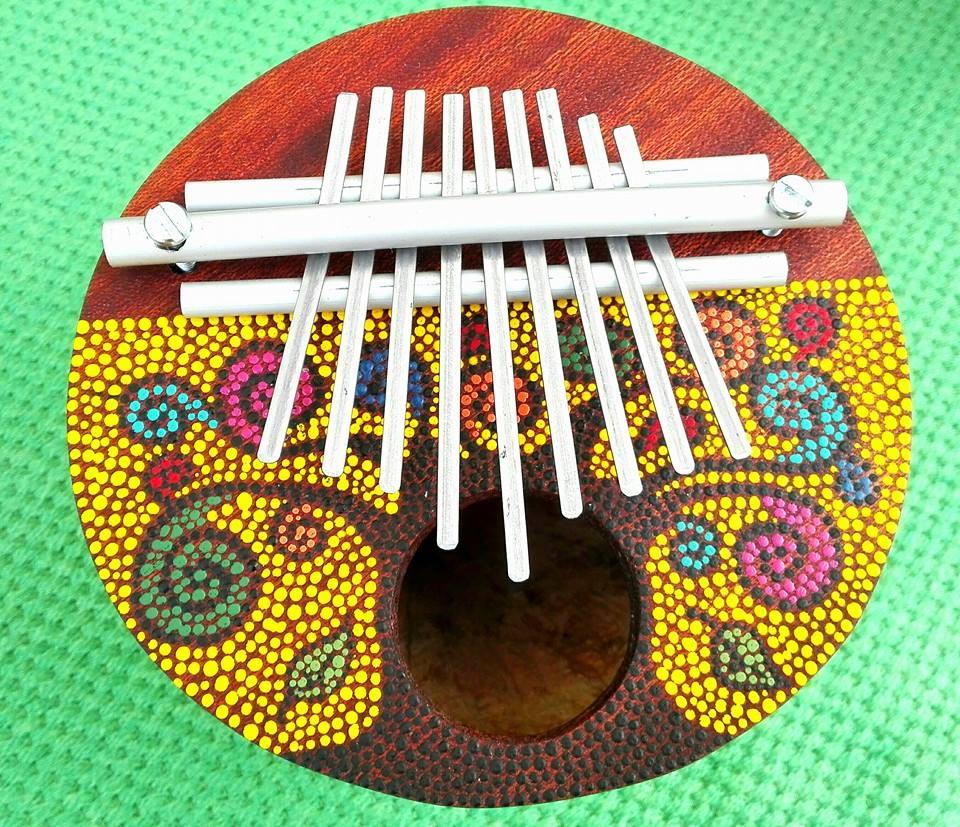 Kalimba Strumento Musicale in Zucca