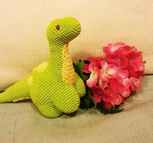 Sauro_dinosauro amigurumi per bambini e neonati