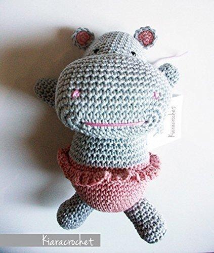 Gina_ ippopotamo amigurumi peluche per bambini e neonati