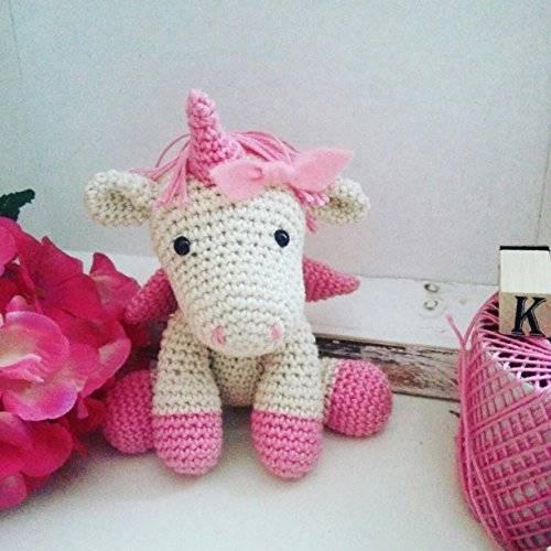 Polly_  unicorno amigurumi all'uncinetto per bambini e neonati