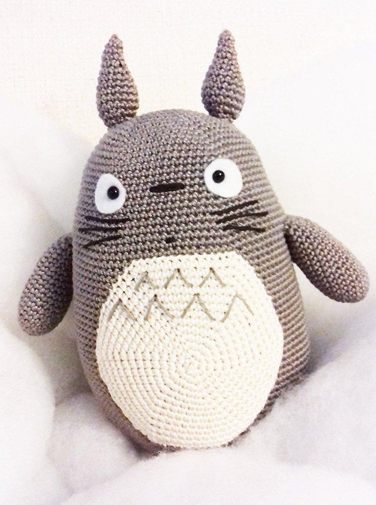 Totoro Pupazzo Alluncinetto Amigurumi Per Bambini E Neonati