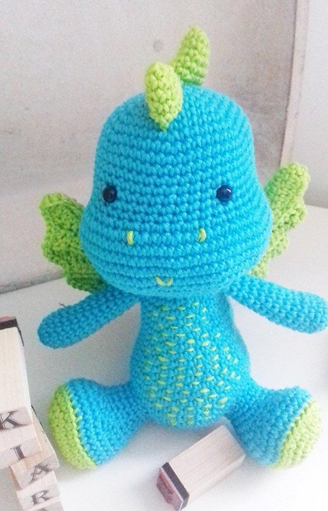 Arduino _ draghetto amigurumi all'uncinetto per bambini e neonati