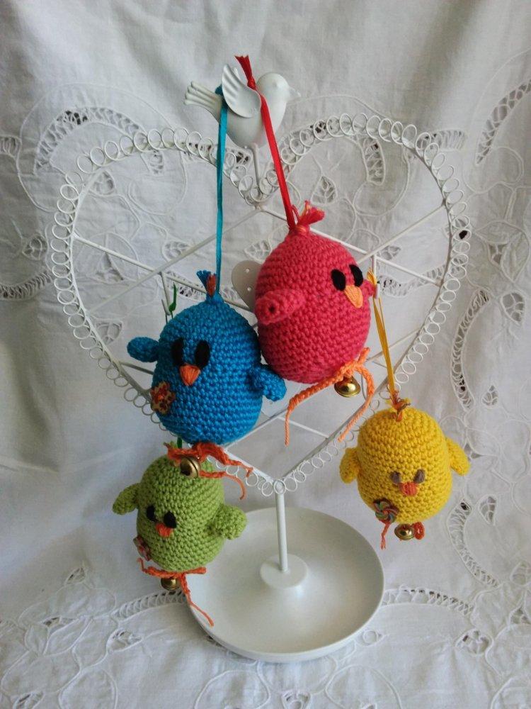 Uccellini in cotone
