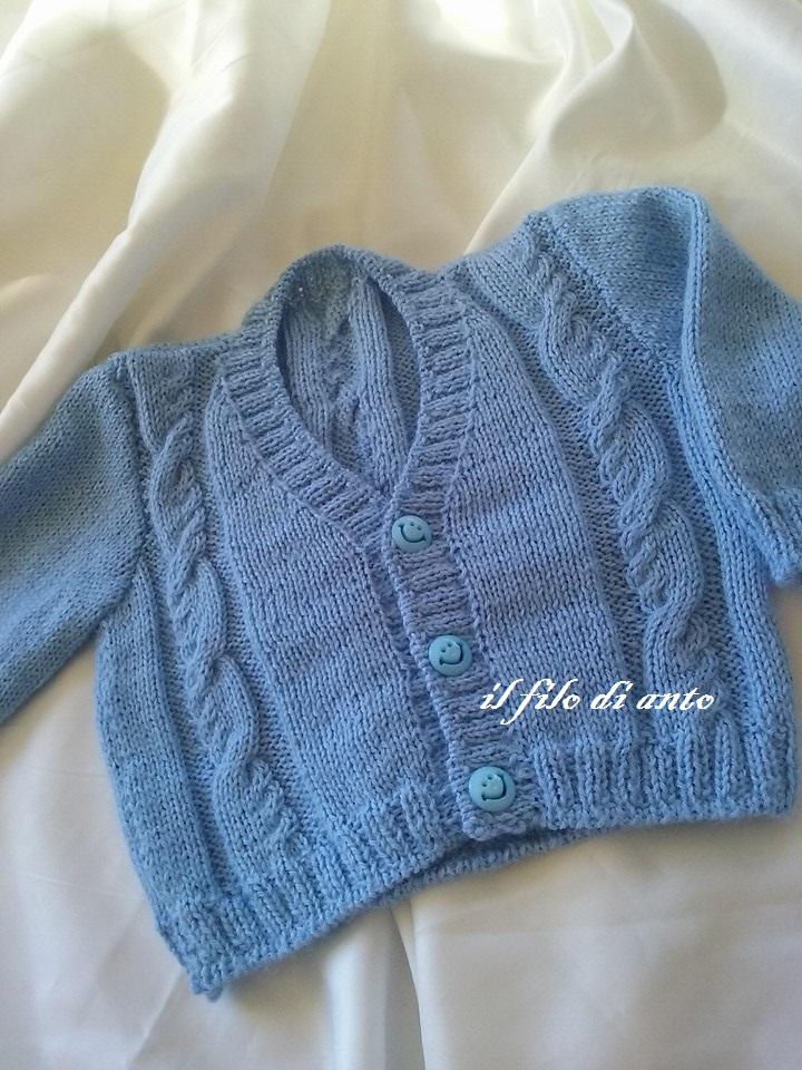 Gradigan / golfino / maglia bambino in lana