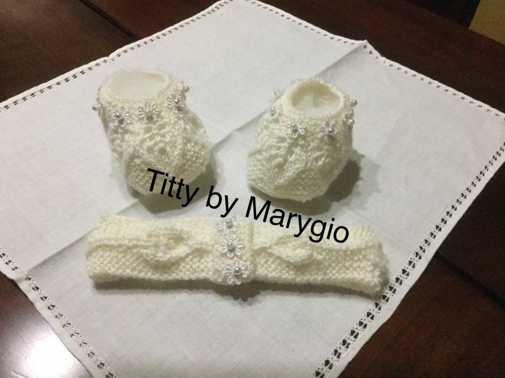 Scarpine babbucce per neonata