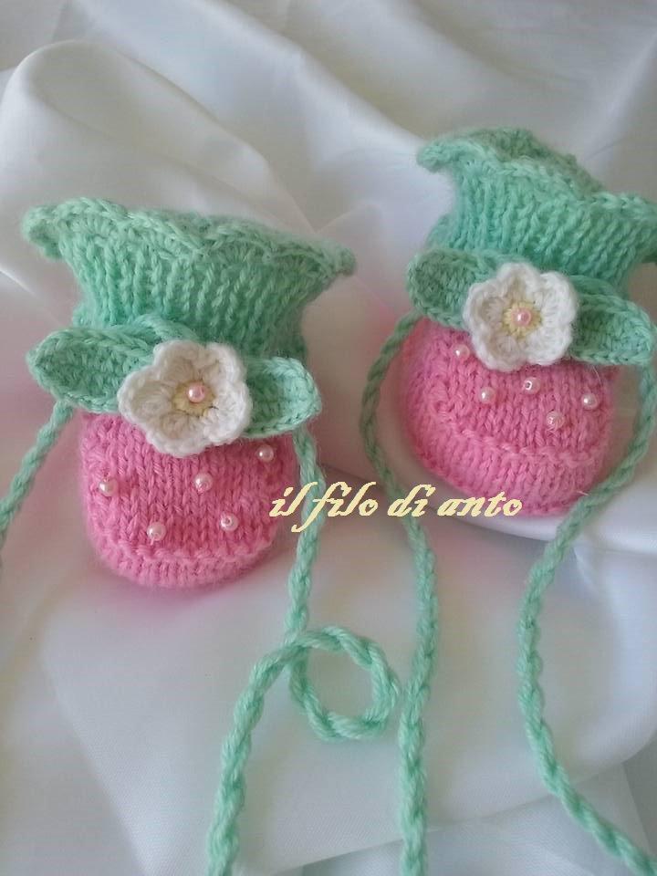 Scarpine stivaletto rosa e verde con fiore in