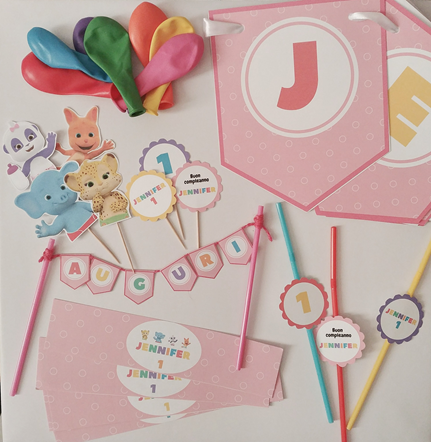 Senza Pensieri in Festa Party Box- party kit compleanno a tema