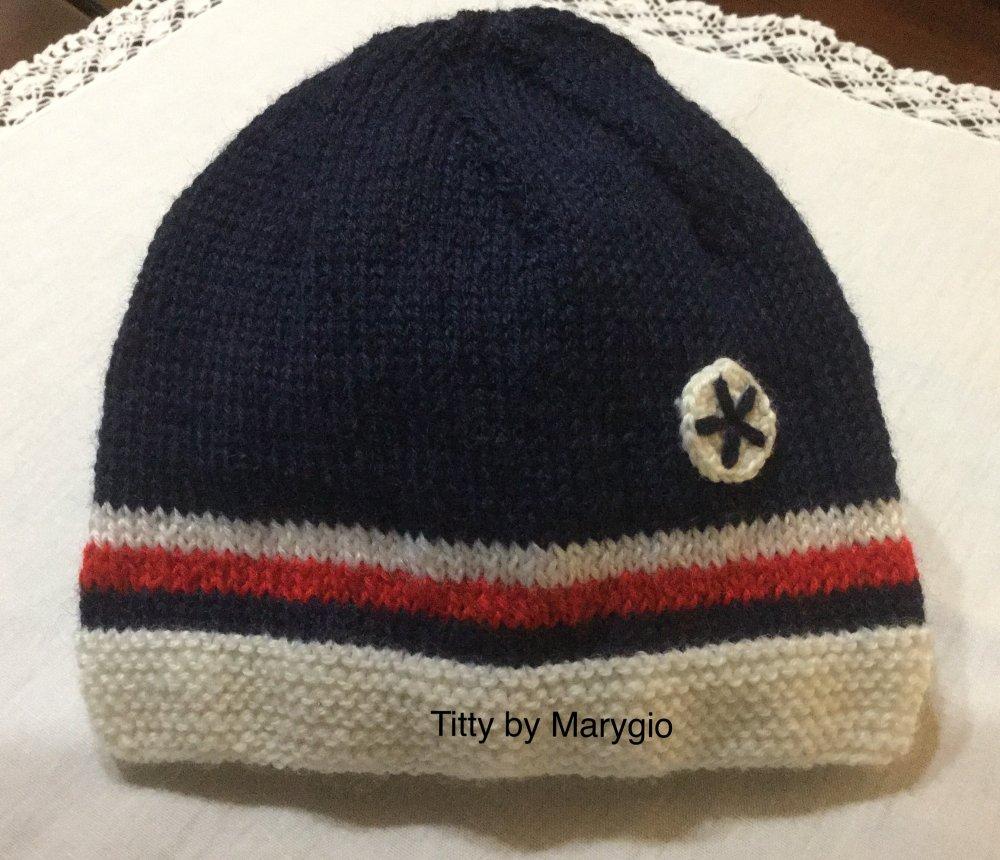 Cappellino sportivo per neonato