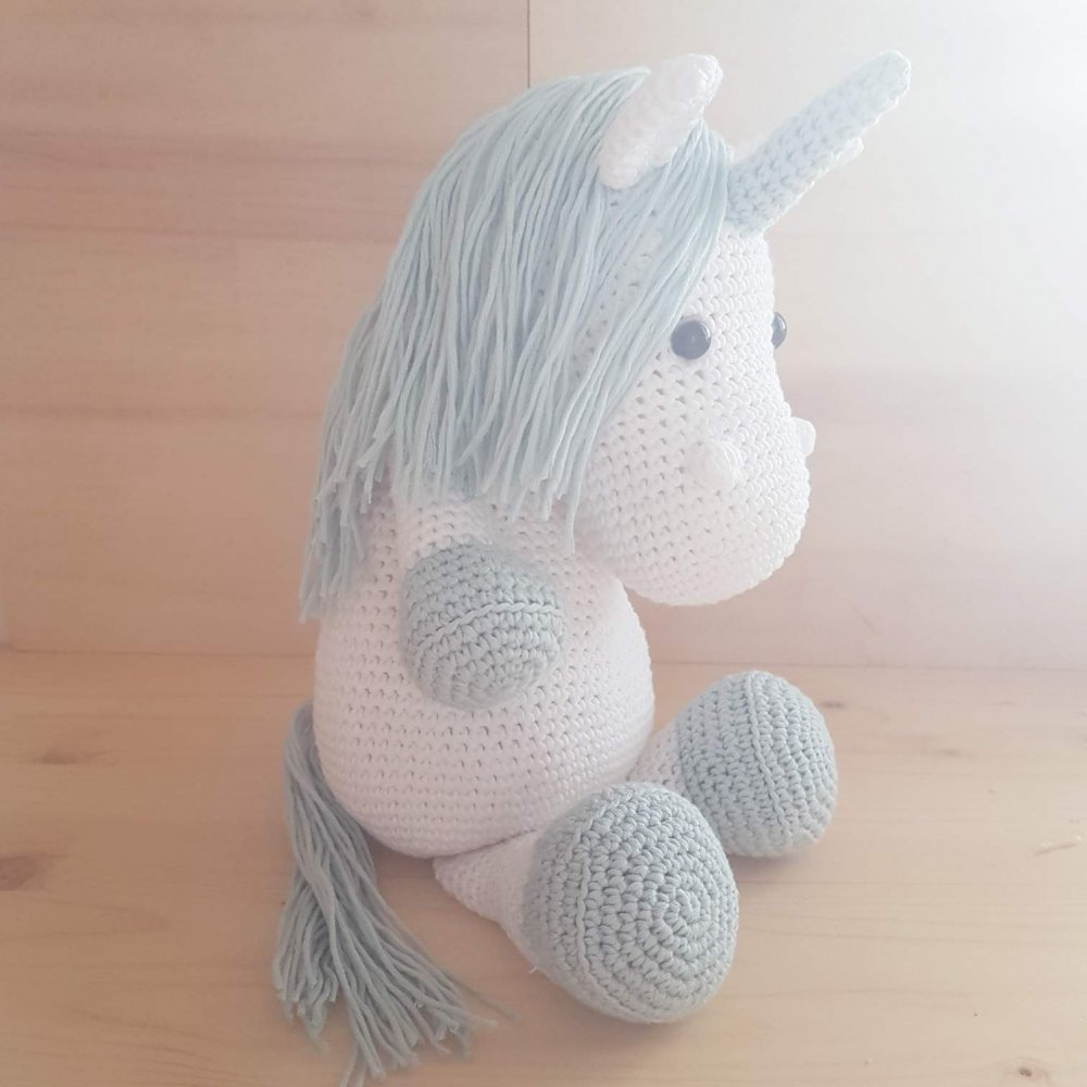 Baby unicorn amigurumi pattern - Amigurumi Today | 1000x1000