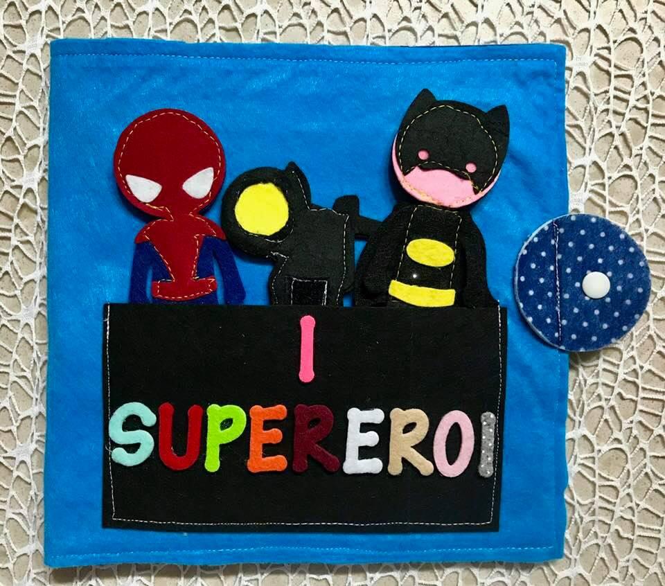 Pannello inventastorie: I Supereroi