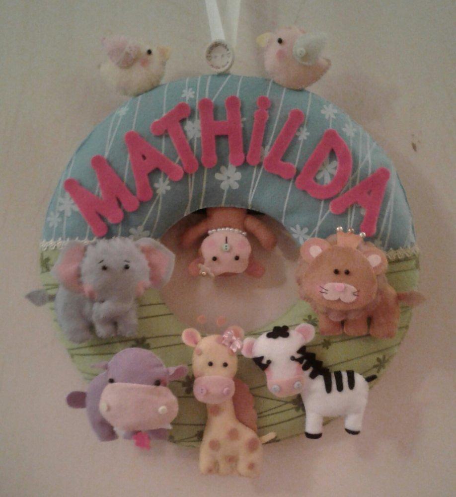 Fiocco nascita, fiocco di nascita, fiocco nascita animali, baby birth, baby ribbon, ghirlanda nascita, coccarda nascita, regalo nascita