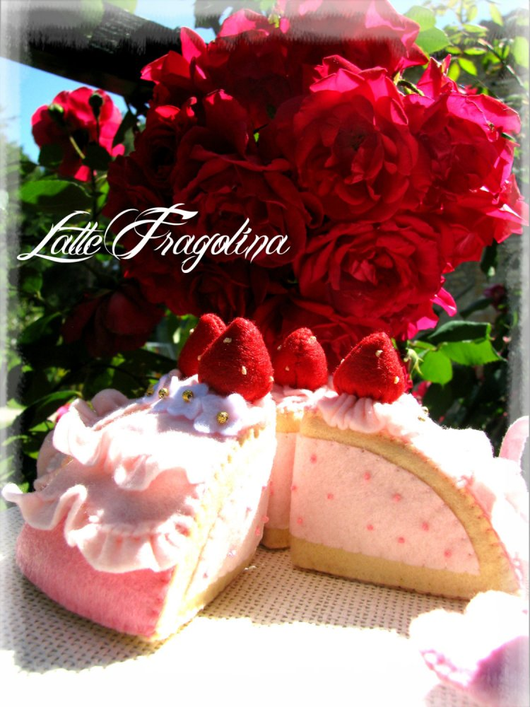 Torta di fragole Mousse