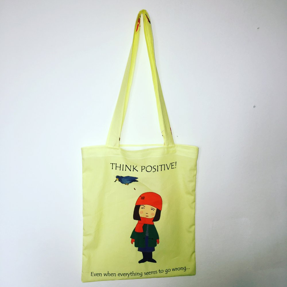 Think Positive Toto bag