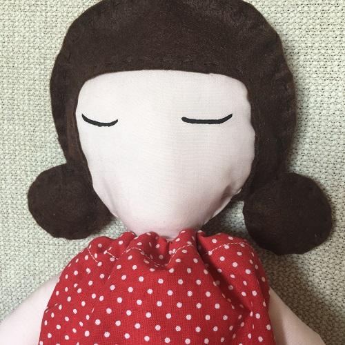 Doll con codini tondi