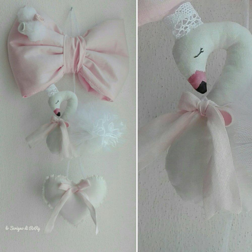 Il cigno rosa