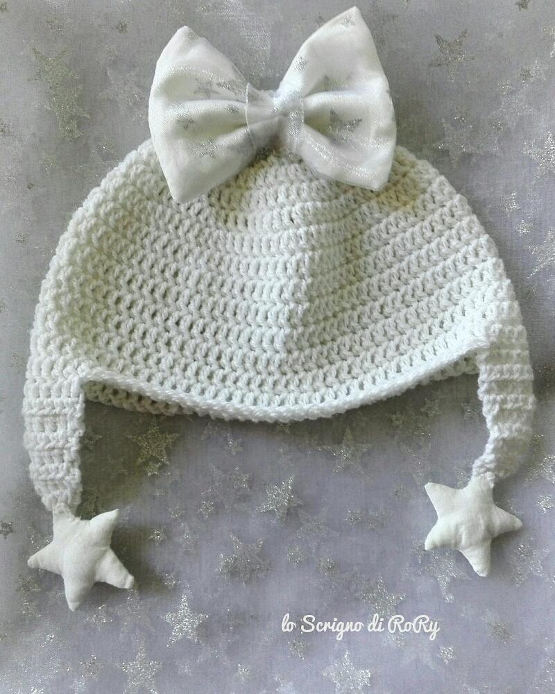 Cappellino in lana 100% baby