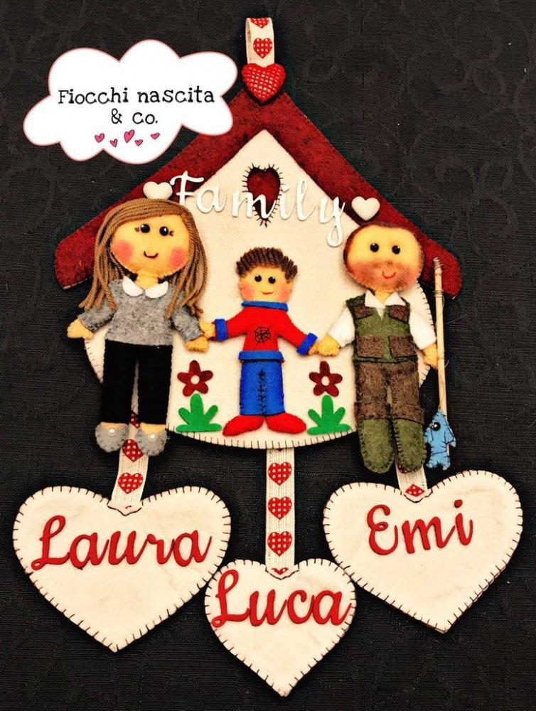 decorazione sweet family