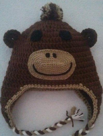 berretto scimmietta per bambini